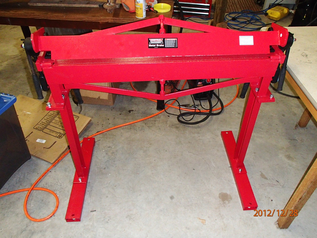 How To Build Metal Work Table Plans Pdf Plans